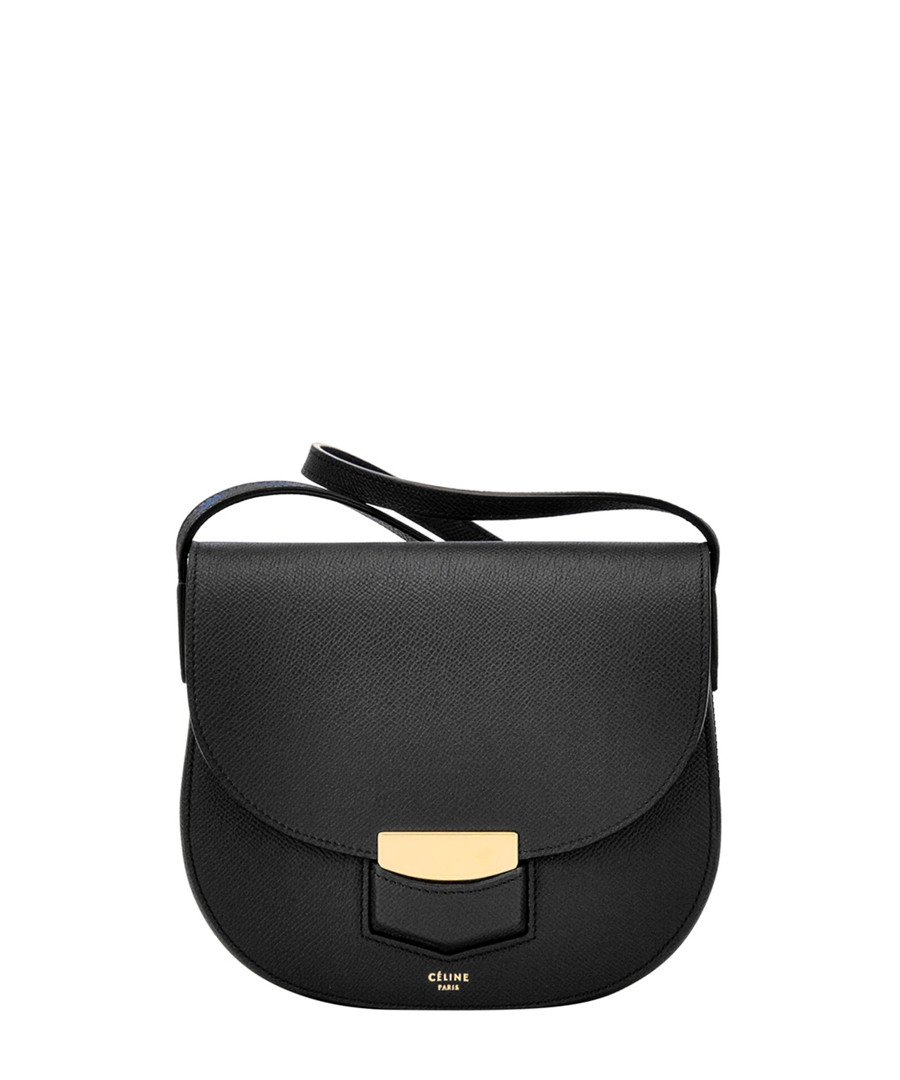 celine ecru leather handbag