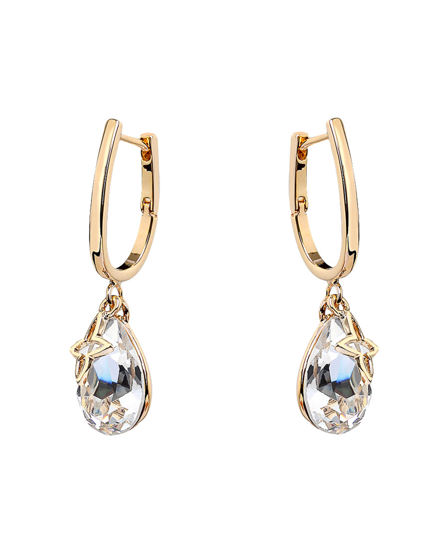 18ct gold-plated U-hook earrings Sale - caromay