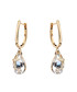 18ct gold-plated U-hook earrings Sale - caromay Sale
