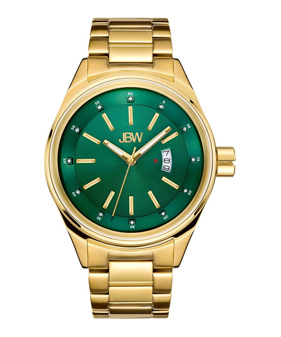Rook 18k gold-plated & diamond watch Sale - JBW