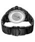Rook black steel & diamond watch Sale - jbw Sale
