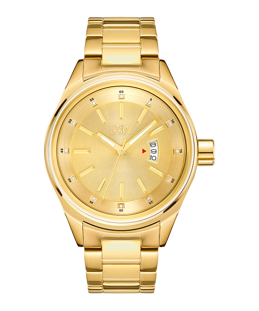 Rook gold-tone steel & diamond watch Sale - jbw
