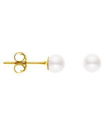 0.5cm freshwater pearl stud earrings