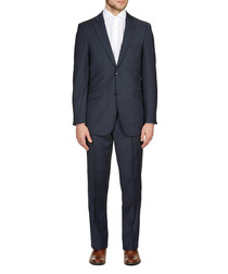 2pc Chelsea navy pure wool suit