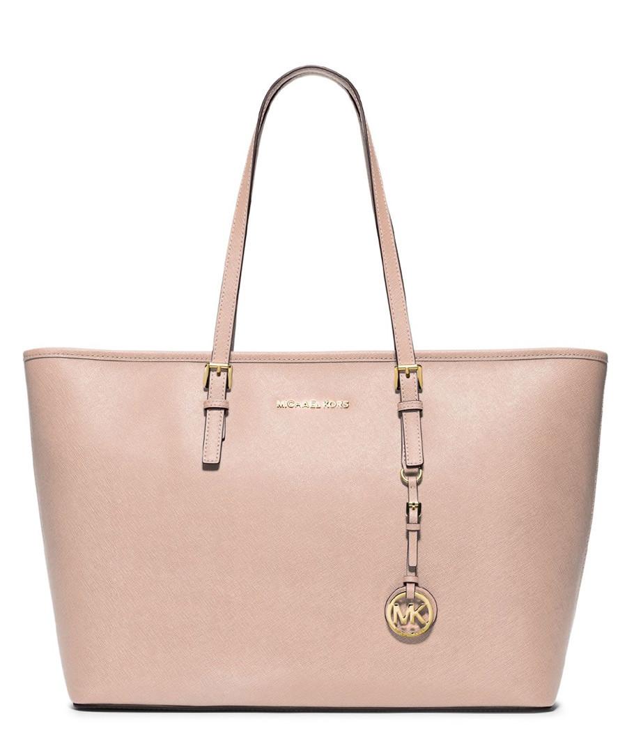 michael kors jet set ballet leather travel tote bag designer bags sale michael kors handbags. Black Bedroom Furniture Sets. Home Design Ideas