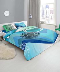 Image of Square pure cotton double duvet set