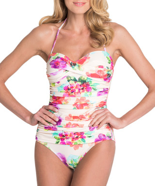 799dc51daa SEASPRAY. South Pacific ivory control swimsuit
