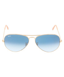 Aviator Mirror blue sunglasses
