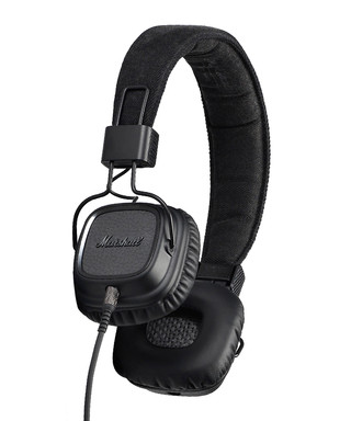 15703de1a54 Major II Pitch Black Android headphones Sale - Marshall Headphones Sale