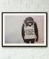 Global Warning framed print 40cm Sale - banksy Sale