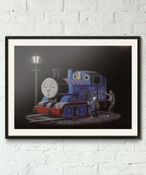 Thomas The Tank Engine framed print 40cm