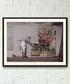 Cut And Paste framed print 40cm Sale - banksy Sale