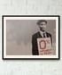 Banker framed print 40cm Sale - banksy Sale