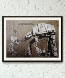 I Am Your Father framed print 40cm