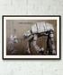 I Am Your Father framed print 40cm Sale - banksy Sale
