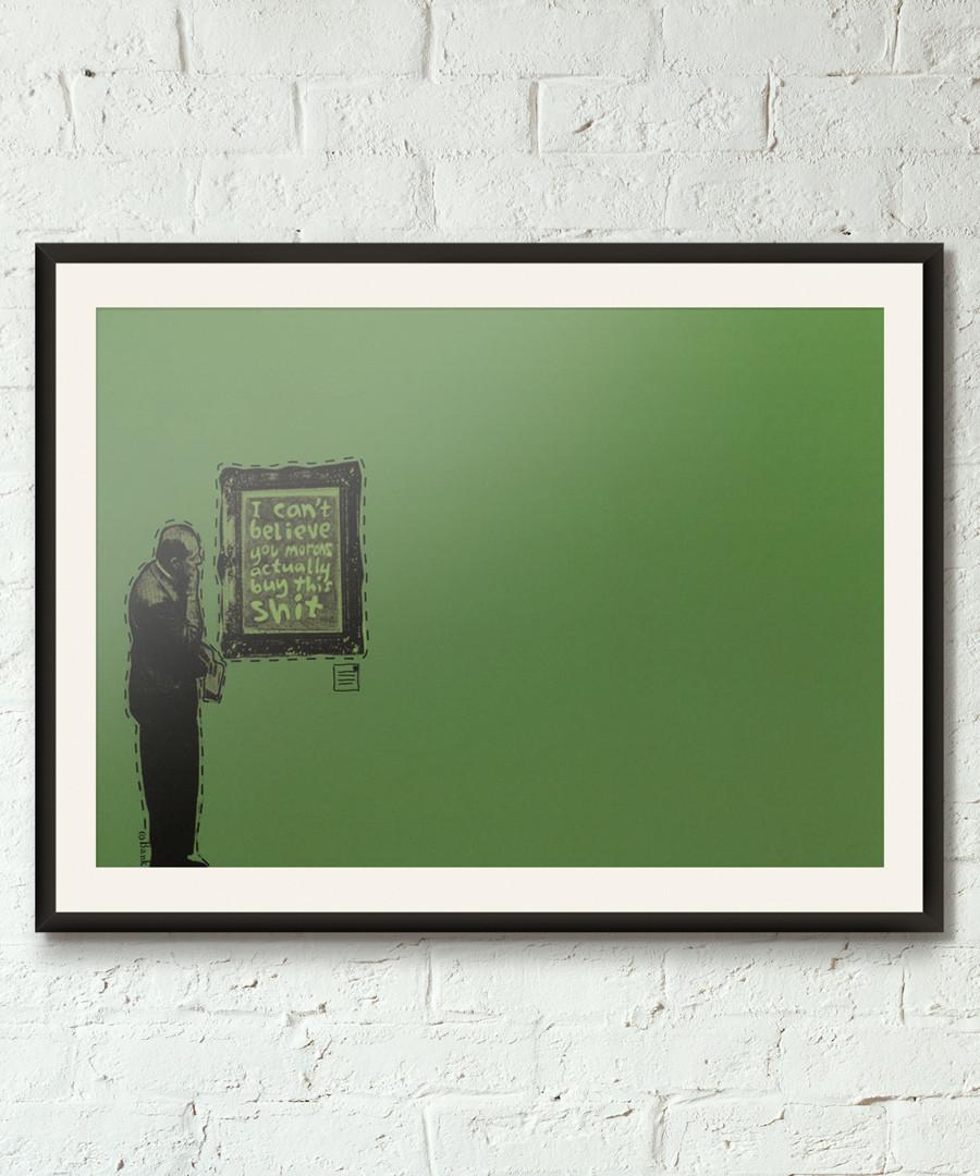 Neither Can I framed print 40cm Sale - banksy