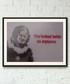 My Space Photo Lies framed print 40cm Sale - banksy Sale