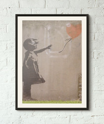 I Wuv U framed print 40cm