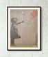 I Wuv U framed print 40cm Sale - banksy Sale