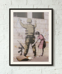Role Reversal framed print 40cm