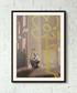 Yellow Flower framed print 40cm Sale - banksy Sale