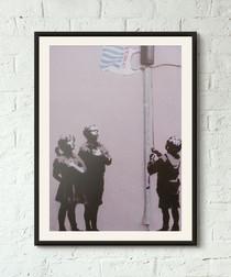 United States of Tesco framed print 40cm