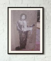 Anywhere But Here framed print 40cm