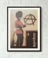 Anti Establishment framed print 40cm Sale - banksy Sale