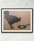 Chicken And Egg framed print 40cm Sale - banksy Sale
