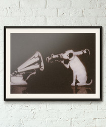 STFU framed print 40cm