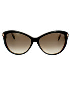 Telma brown Havana cat eye sunglasses