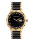 Thyrso black & gold-tone diamond watch Sale - chrono diamond Sale