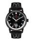 Nereus black leather & diamond watch Sale - chrono diamond Sale