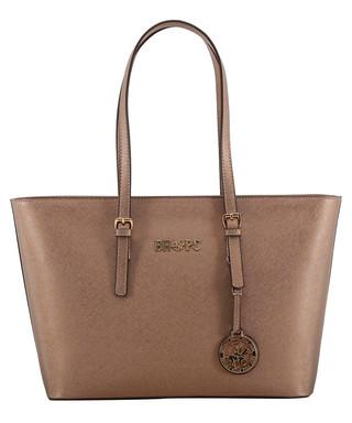 2c340605dae9 Beverly Hills Polo Club. Copper   gold-tone shopper bag