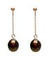 0.7cm black pearl & 9ct gold earrings Sale - Windsor Pearl Sale