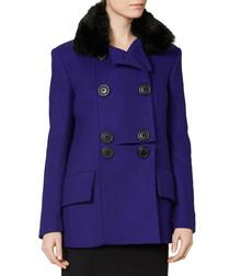 Women's Marshall blue pea coat