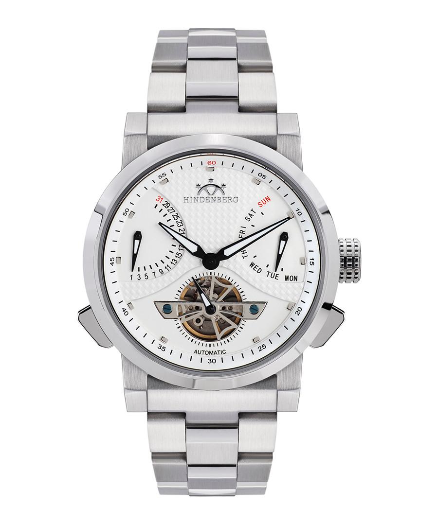 Convertor stainless steel chrono watch Sale - hindenberg