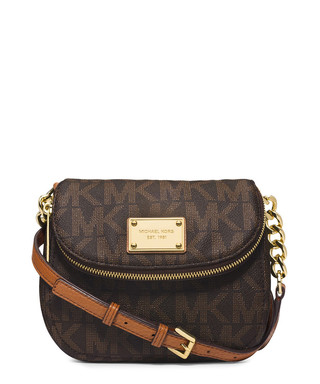 69def7875dd2 Jet Set brown flap-over cross body Sale - Michael Kors Sale