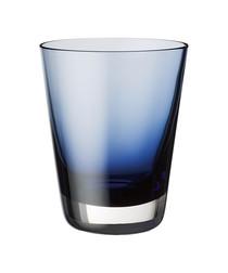 Colour Concept blue glass tumbler