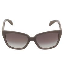 Opal & brown cat eye sunglasses