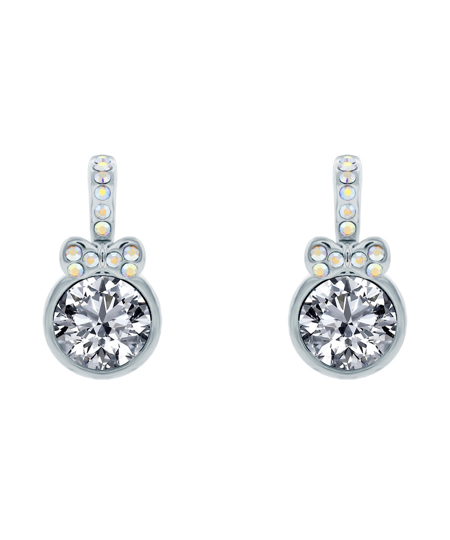 Boutique gold-plated crystal earrings Sale - diamond style