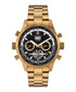 Globe Trotter gold-tone & black watch Sale - mathis montabon Sale