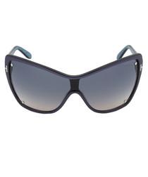 Ekaterina blue azure sunglasses