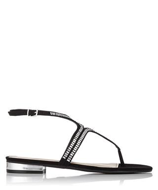f6e0c5c3805 Bonnie black   silver sandals Sale - Carvela Kurt Geiger Sale