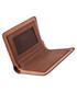 Brown leather foldover wallet Sale - hautton Sale