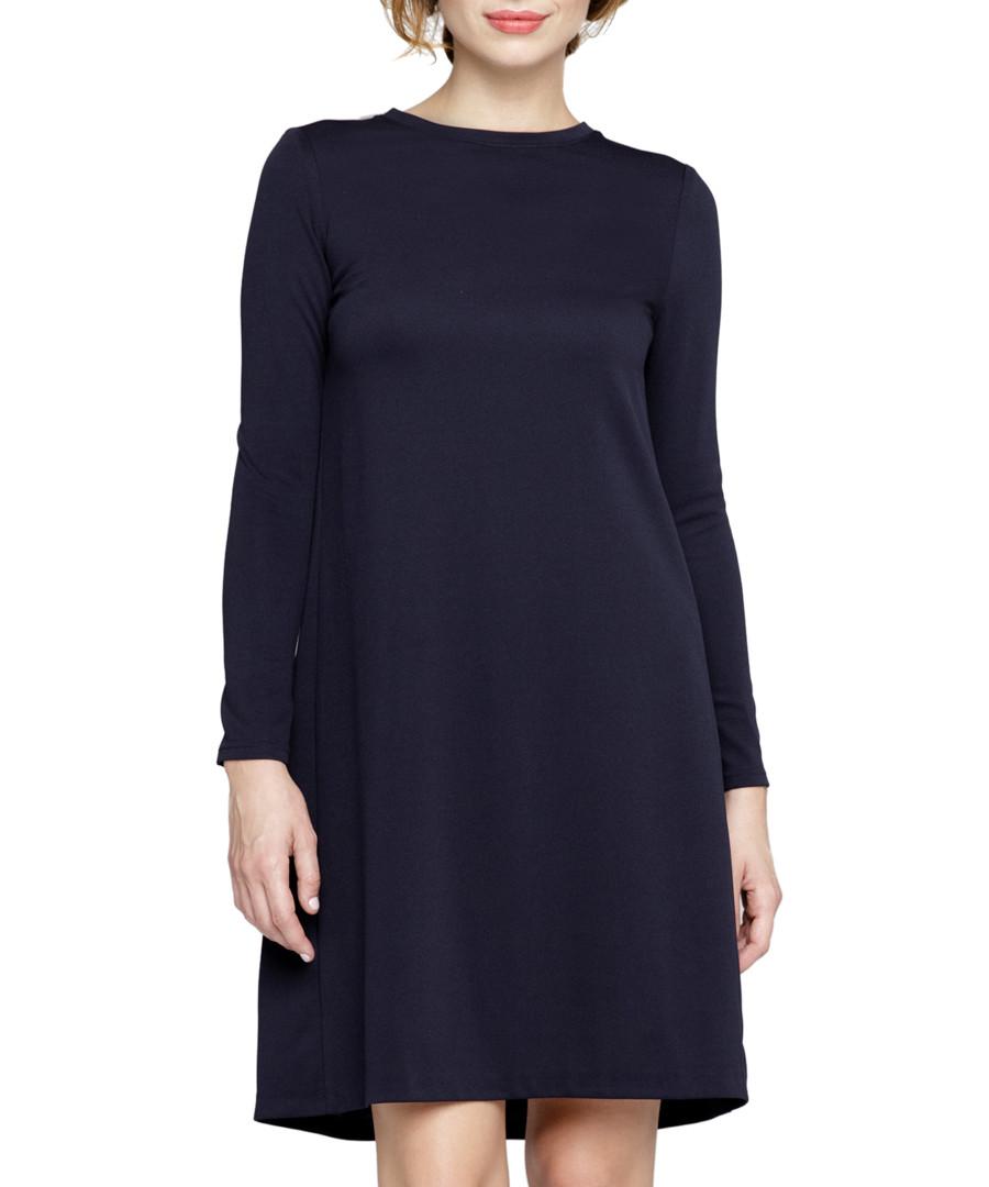 Navy mini swing dress Sale - peperuna