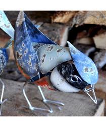 Bluebird steel figure