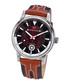 Nereus brown leather & diamond watch Sale - chrono diamond Sale