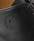 Forate black leather brogues Sale - Oliver Sweeney Sale