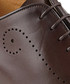 Forate brown leather brogues Sale - Oliver Sweeney Sale